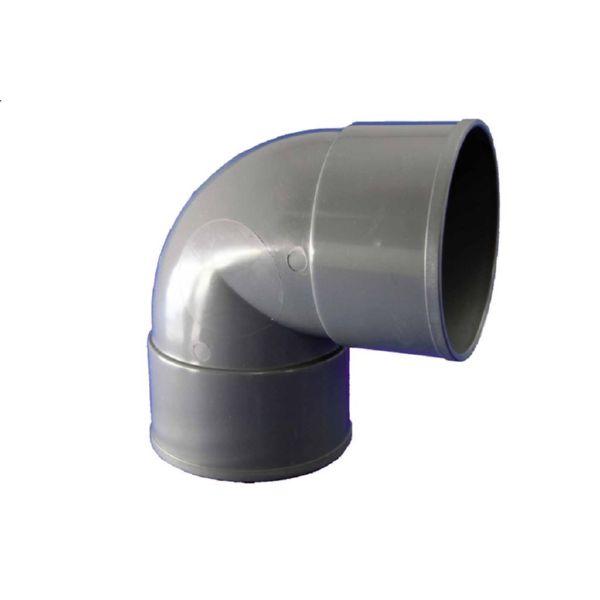 CODO PVC EVACUACION H-H 87º Ø 32
